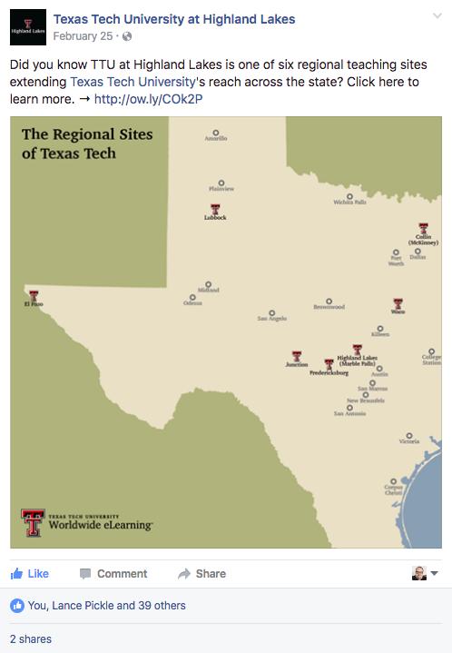 Texas Tech University at Highland Lakes